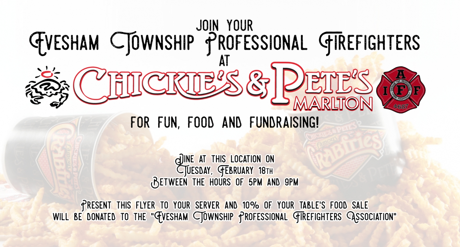 Chickie's & Pete's Dine and Donate